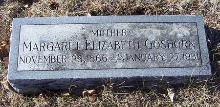 GOSHORN, MARGARET ELIZABETH (MOTHER) - Shelby County, Iowa | MARGARET ELIZABETH (MOTHER) GOSHORN