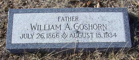 GOSHORN, WILLIAM A. (FATHER) - Shelby County, Iowa   WILLIAM A. (FATHER) GOSHORN