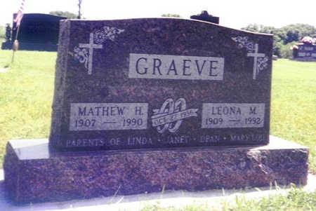 LAPKE GRAEVE, LEONA MARY - Shelby County, Iowa | LEONA MARY LAPKE GRAEVE