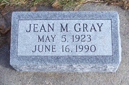 GRAY, JEAN M. - Shelby County, Iowa | JEAN M. GRAY