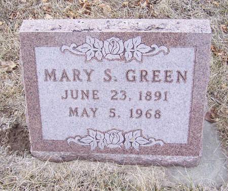 GREEN, MARY S. - Shelby County, Iowa | MARY S. GREEN