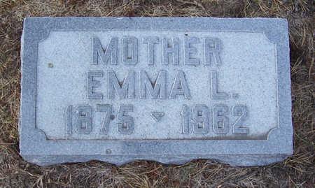 GREGERSEN, EMMA L. (MOTHER) - Shelby County, Iowa | EMMA L. (MOTHER) GREGERSEN