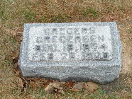 GREGERSEN, GREGERS - Shelby County, Iowa | GREGERS GREGERSEN