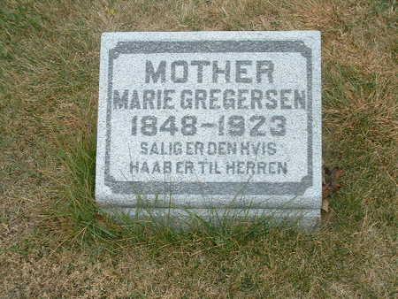 GREGERSEN, MARIE - Shelby County, Iowa | MARIE GREGERSEN