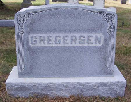 GREGERSEN, NICOLAI P. & EMMA L. (LOT STONE) - Shelby County, Iowa | NICOLAI P. & EMMA L. (LOT STONE) GREGERSEN