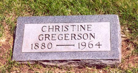 GREGERSON, CHRISTINE - Shelby County, Iowa | CHRISTINE GREGERSON