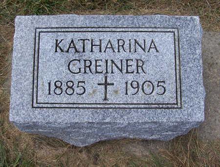 GREINER, KATHARINA - Shelby County, Iowa | KATHARINA GREINER