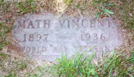 GREINER, MATH VINCENT - Shelby County, Iowa | MATH VINCENT GREINER