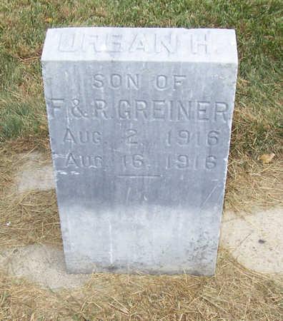 GREINER, URBAN H. - Shelby County, Iowa | URBAN H. GREINER