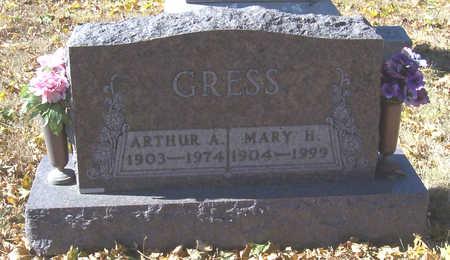GRESS, MARY H. - Shelby County, Iowa   MARY H. GRESS