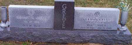 GREVE, HENRIETTA - Shelby County, Iowa   HENRIETTA GREVE