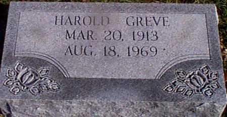GREVE, HAROLD - Shelby County, Iowa | HAROLD GREVE