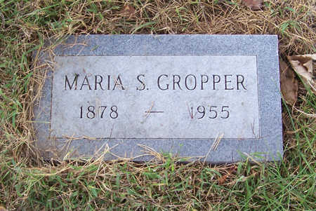 GROPPER, MARIA S. - Shelby County, Iowa | MARIA S. GROPPER