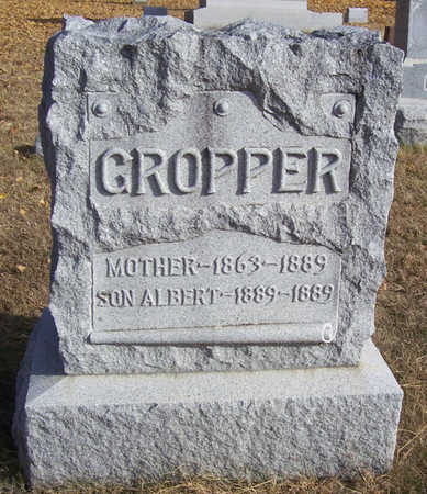 GROPPER, MOTHER - Shelby County, Iowa | MOTHER GROPPER