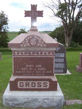 GROSS, MARY ANN - Shelby County, Iowa | MARY ANN GROSS