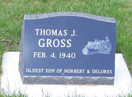 GROSS, THOMAS J. - Shelby County, Iowa   THOMAS J. GROSS