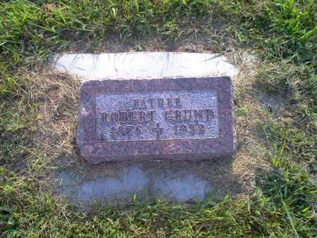 GRUND, ROBERT J. - Shelby County, Iowa | ROBERT J. GRUND