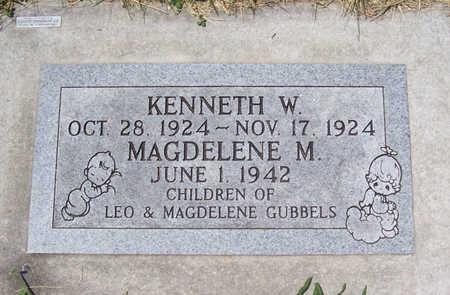 GUBBELS, MAGDELENE M. - Shelby County, Iowa | MAGDELENE M. GUBBELS