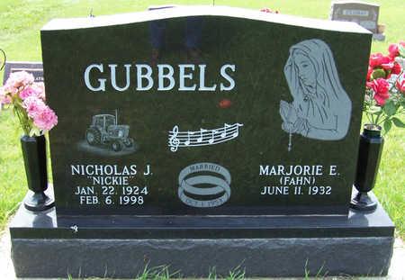 GUBBELS, NICHOLAS J. - Shelby County, Iowa   NICHOLAS J. GUBBELS