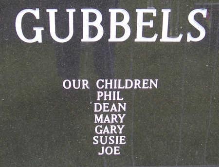 GUBBELS, NICHOLAS J. & MARJORIE E. (REVERSE) - Shelby County, Iowa | NICHOLAS J. & MARJORIE E. (REVERSE) GUBBELS