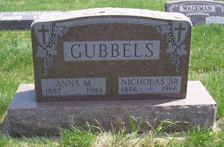 GUBBELS, NICHOLAS SR. & ANNA M. - Shelby County, Iowa   NICHOLAS SR. & ANNA M. GUBBELS