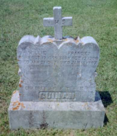 GUINAN, WILLIE - Shelby County, Iowa   WILLIE GUINAN