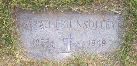GUNSOLLEY, SARAH F. - Shelby County, Iowa | SARAH F. GUNSOLLEY