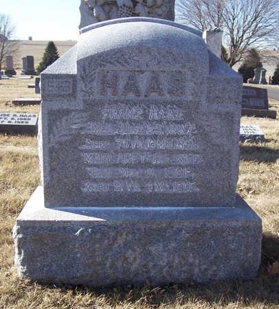 HAAS, MARGARET - Shelby County, Iowa   MARGARET HAAS