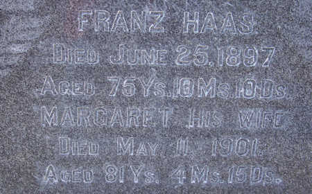 HAAS, FRANZ (CLOSE-UP) - Shelby County, Iowa | FRANZ (CLOSE-UP) HAAS