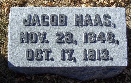 HAAS, JACOB - Shelby County, Iowa | JACOB HAAS