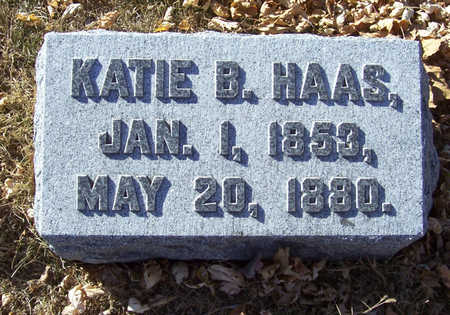 HAAS, KATIE B. - Shelby County, Iowa | KATIE B. HAAS