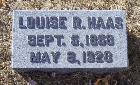 HAAS, LOUISE R. - Shelby County, Iowa | LOUISE R. HAAS