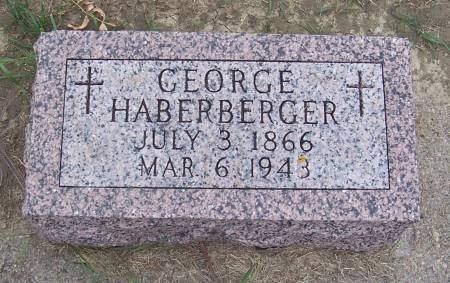 HABERBERGER, GEORGE - Shelby County, Iowa | GEORGE HABERBERGER