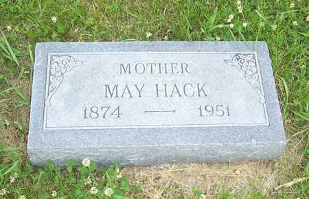 HACK, MAY - Shelby County, Iowa   MAY HACK