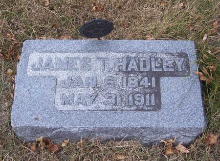 HADLEY, JAMES T. - Shelby County, Iowa   JAMES T. HADLEY