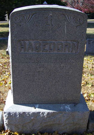 HAGEDORN, AUGUST - Shelby County, Iowa | AUGUST HAGEDORN