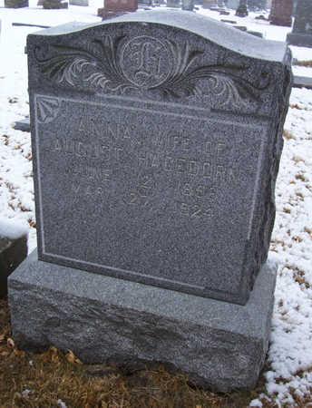 HAGEDORN, ANNA - Shelby County, Iowa | ANNA HAGEDORN
