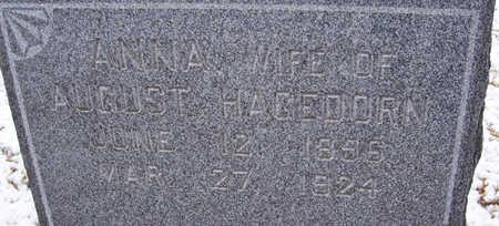 HAGEDORN, ANNA (CLOSE-UP) - Shelby County, Iowa | ANNA (CLOSE-UP) HAGEDORN