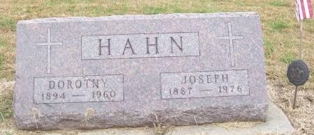 HAHN, JOSEPH - Shelby County, Iowa | JOSEPH HAHN