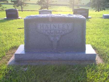 HAINLEY, FAMILY MONUMENT  (FRANCIS) - Shelby County, Iowa   FAMILY MONUMENT  (FRANCIS) HAINLEY