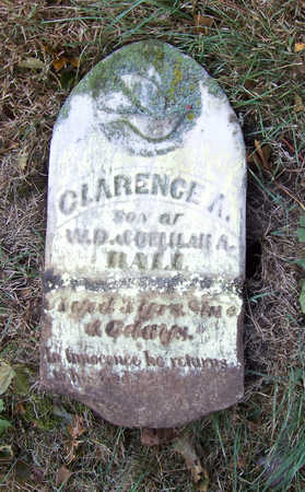 HALL, CLARENCE A. - Shelby County, Iowa | CLARENCE A. HALL