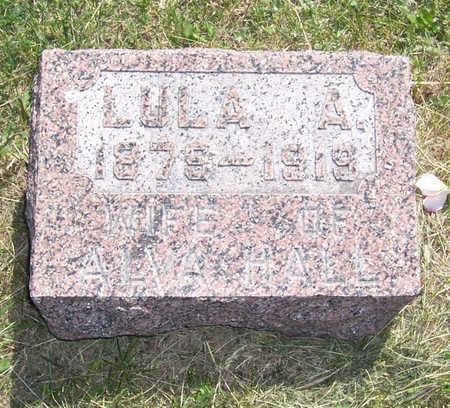 HALL, LULA A. - Shelby County, Iowa | LULA A. HALL