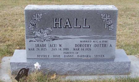 HALL, DOROTHY A. - Shelby County, Iowa | DOROTHY A. HALL