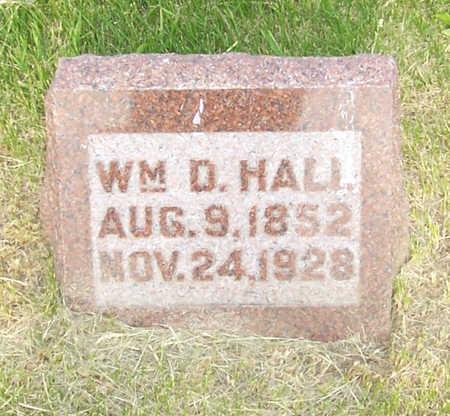 HALL, WM. D. - Shelby County, Iowa | WM. D. HALL
