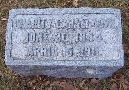 HALLADAY, CHARITY C. - Shelby County, Iowa | CHARITY C. HALLADAY