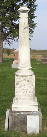 HALLIDAY, HENRY - Shelby County, Iowa | HENRY HALLIDAY