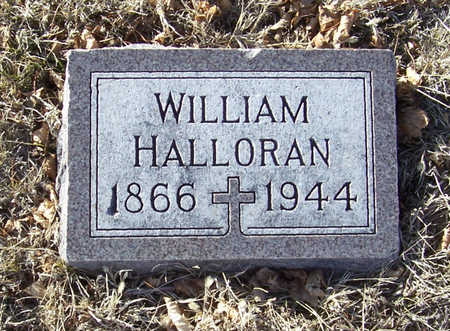 HALLORAN, WILLIAM - Shelby County, Iowa | WILLIAM HALLORAN