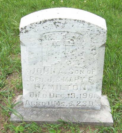 HAMILTON, JOHN A. - Shelby County, Iowa | JOHN A. HAMILTON