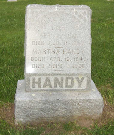 HANDY, WILLIAM - Shelby County, Iowa | WILLIAM HANDY