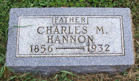 HANNON, CHARLES M. (FATHER) - Shelby County, Iowa | CHARLES M. (FATHER) HANNON